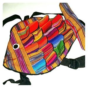 Authentic Guatemalan Textile Kids backpack